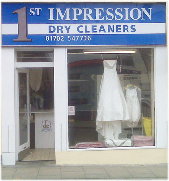 photo of 1st impression dry cleaning in rochford Essex